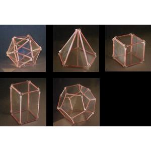 立體幾何構造模型(教學套組)