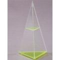 透明三角錐體模型 B