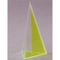 透明三角錐體模型 A
