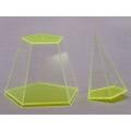 分解式五面角錐體模型