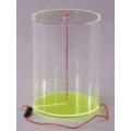 透明圓柱體模型 B
