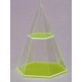 透明六面角錐體模型 B