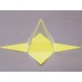 正方形角錐體模型 C