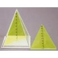正方形角錐體模型 B