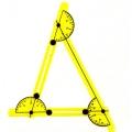 三角形內角和模型