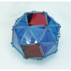 阿基米德立體模型-扭稜立方體