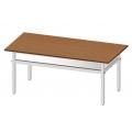 學生美勞工作桌(鋁合金腳架)