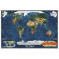 世界衛星大地圖